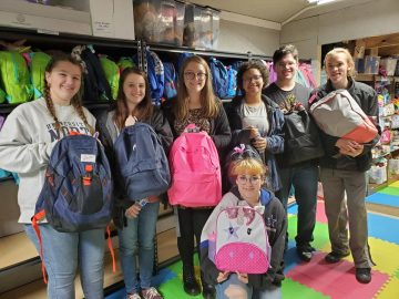 Apalachee Music Honor Society came out and volunteered their time helping pack Bags! Thank you all for your time and the donations.